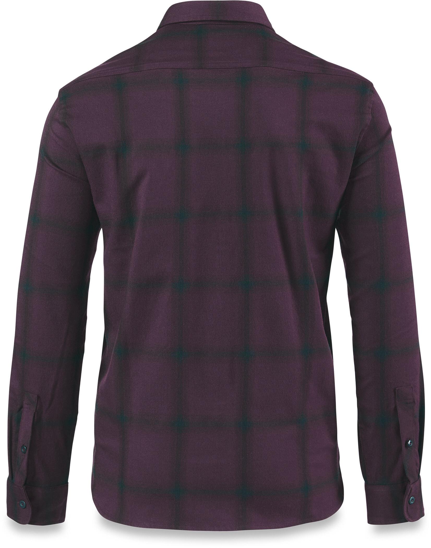 c38add1bd Dakine Underwood Flannel Button Shirt Men Plum Shadow online kaufen ...